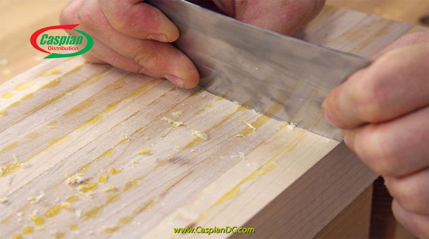 نحوه پاک کردن چسب چوب خشک شده از روی چوب